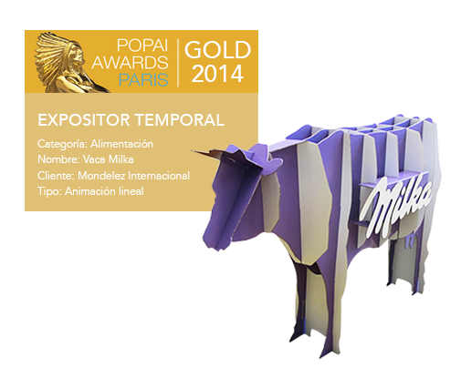 Popai Awards Gold Grupo Miralles